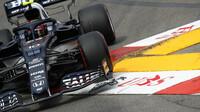 Pierre Gasly - kvalifikace v Monaku