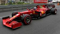 Charles Leclerc - kvalifikace v Monaku