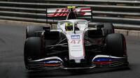 Mick Schumacher - kvalifikace v Monaku
