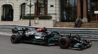 Valtteri Bottas - kvalifikace v Monaku