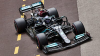 Lewis Hamilton - kvalifikace v Monaku