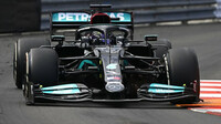 Lewis Hamilton v GP Monaka 2021
