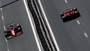 Charles Lecler a Carlos Sainz - kvalifikace Baku