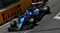 Fernando Alonso - kvalifikace Baku