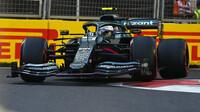 Sebastian Vettel - kvalifikace Baku