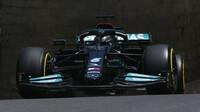 Lewis Hamilton - kvalifikace Baku