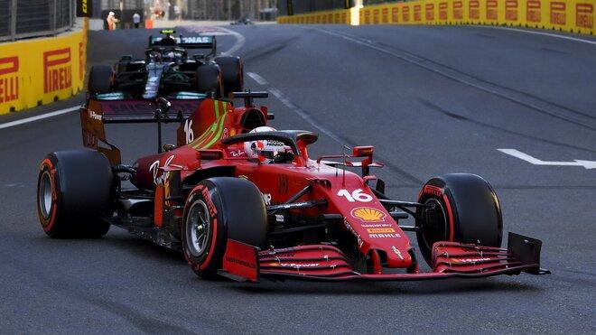 Charles Leclerc - kvalifikace Baku