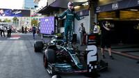 Zůstane Vettelovo druhé místo v Baku prozatím jediným pódiovým umístěním?