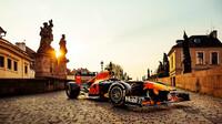 Red Bull během návštěvy v Praze