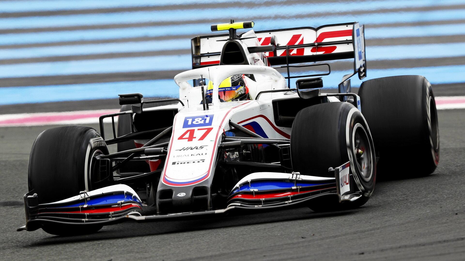Mick Schumacher - závod ve Francii