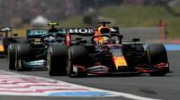 Max Verstappen a Valtteri Bottas - závod ve Francii