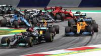 Lewis Hamilton - závod v rakouském Štýrsku