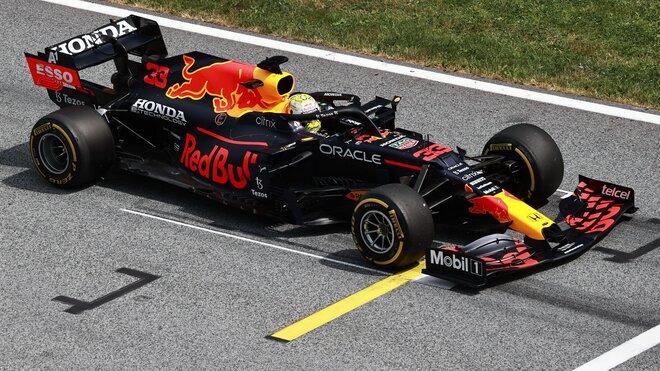Max Verstappen v GP Štýrska