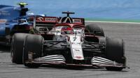Kimi Räikkönen - závod v rakouském Štýrsku