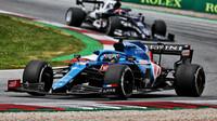 Fernando Alonso - závod v rakouském Štýrsku