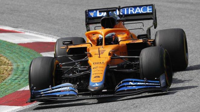 Daniel Ricciardo byl po závodě v Británii spokojený