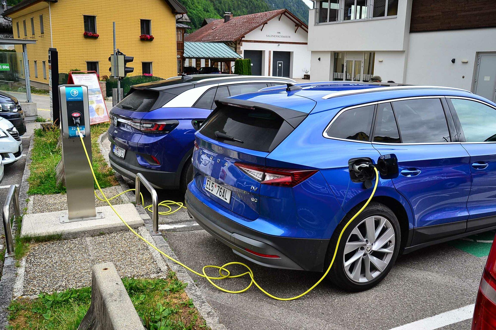 22 kW nabíječka v Rakousku