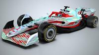 Koncept vozu Formule 1 pro sezónu 2022