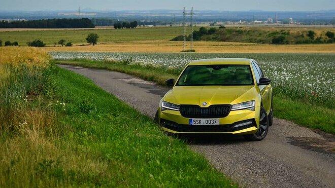 Škoda Superb 2.0 TSI 200 kW Sportline