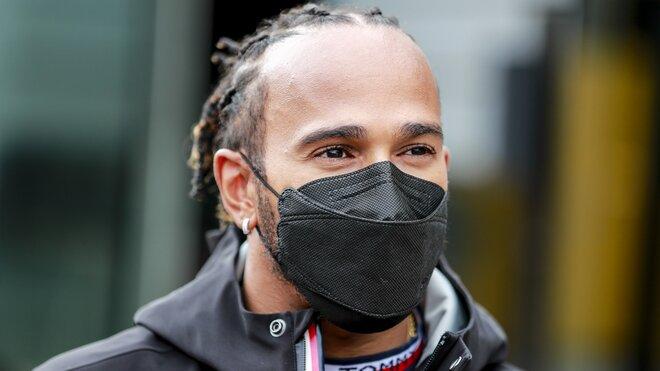 Lewis Hamilton v Holandsku