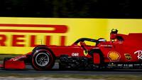 Carlos Sainz v závodě v Holandsku