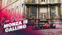 Roadshow Red Bullu v Palermu