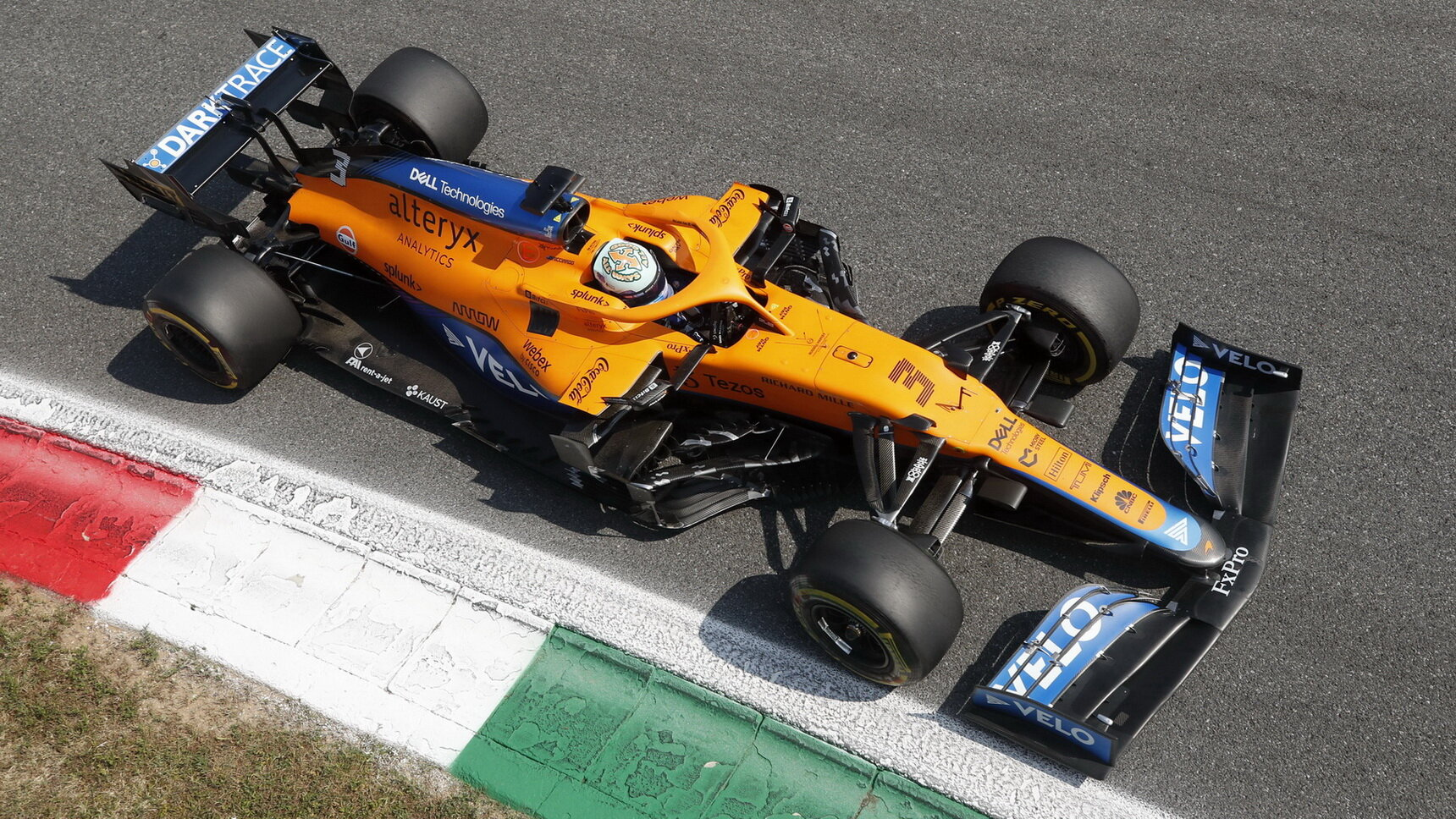 Okruh McLarenu perfektně sedl