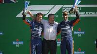 McLaren na stupních vítězů po závodě na Monze