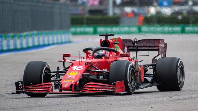 Charles Leclerc dostal nový motor v Rusku