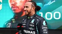 Lewis Hamilton po závodě v Soči