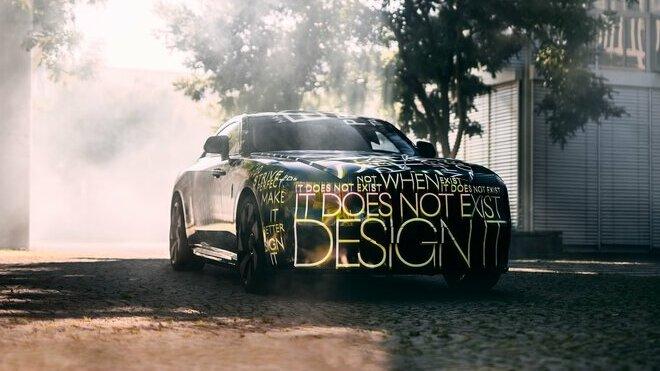 Čistě bateriový elektromobil Rolls Royce Spectre na prvních snímcích