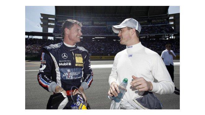 Coulthard - Schumacher, R.