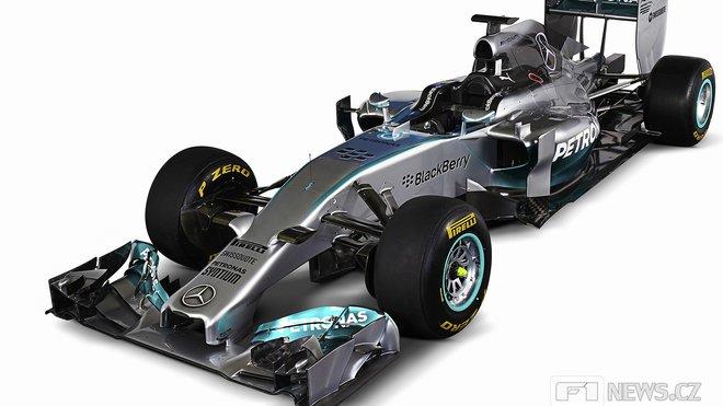 Test Pirelli absolvuje Mercedes s dva roky starým monopostem