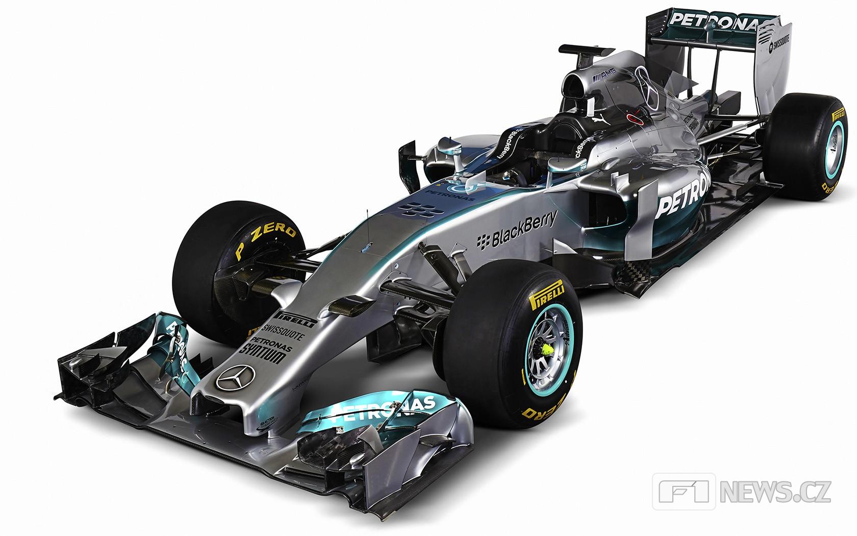 Mercedes se představí na Silverstone s dva roky starým monopostem - anotační foto