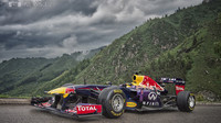 Tento vůz představí Daniel Ricciardo na mexickém náměstí Zucalo.